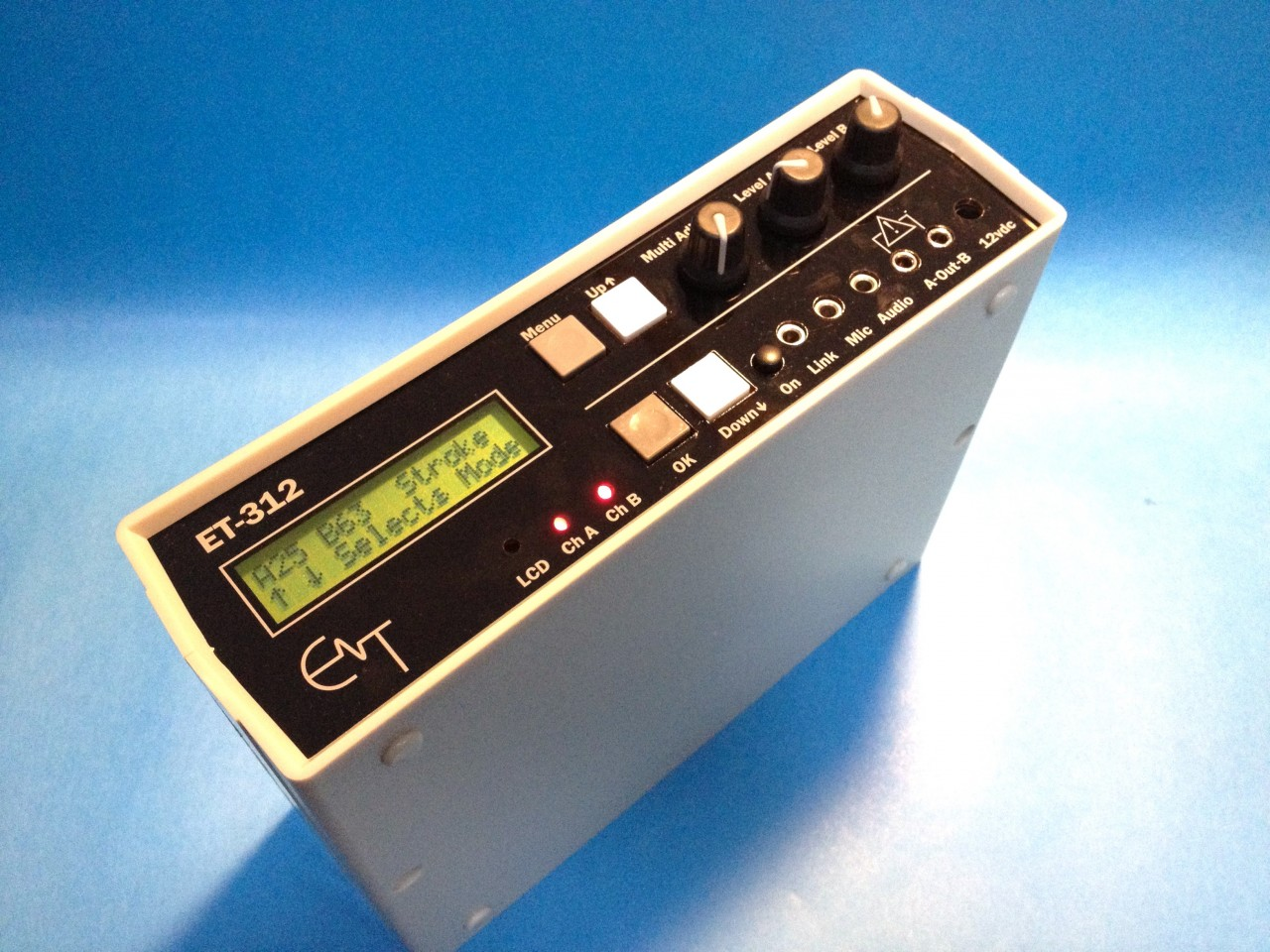 The Erostek ET312b estim electrosex power box. The ultimate in BDSM electro sex.