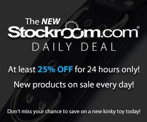 Stockroom - amazing BDSM online store. Great prices