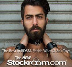 The Stockroom - the best store for gay male BDSM bondage and estim